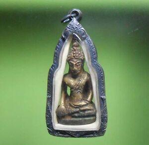 OLD THAI BUDDHA STATUE AMULET PHRA AYUTTHAYA HOT PENDANT