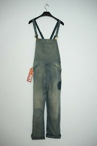 Levi's Vintage Clothing LVC Distressed Dungarees Overalls Bib N Brace Jeans S