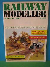 Railway Modeller August 1989 # Garden Railways ~ Exeter Quay & Exe Haven in 4mm