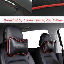 2* Cotton Car Headrest Head Neck Pillow Comfortable Sleep Breathable Four Season