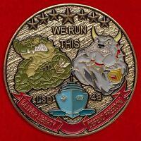 Challenge coin amphibious Japan dock USS Ashland (LSD-48) the United States