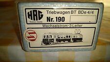 HAG N. 190  , automotrice BDe 4/4 BT ( Bodensee Toggenburg )