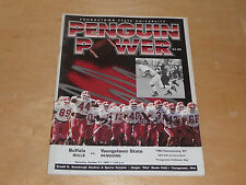 1997 BUFFALO AT YOUNGSTOWN STATE COLLEGE FOOTBALL PROGRAM  EX-MINT