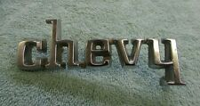 "1960's ??? ""Chevy"" Nameplate / Emblem"
