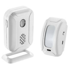1pk Wireless Doorbell Motion Sensor Detector Alarm Welcome Chime Alert Door Gate