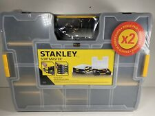 Stanley 194745 SortMaster Organiser with Connectable Side Clips