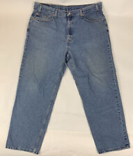Vtg 90's Levi's Mens Jeans 550 Relaxed Fit Faded Straight Leg Size 42 x 30
