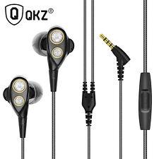 Premium Headset Kopfhörer QKZ-KD4 Dual Treiber In-Ear-Headset Ohrhörer