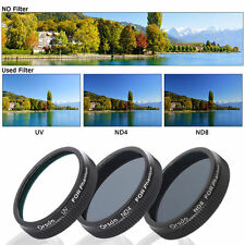 FPV Neutral Density ND4+ND8+UV Lens Filter for DJI Phantom4 3 Professional RC160
