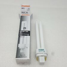 Sylvania 26W Dulux D/E Compact Fluorescent CFL Light Bulb 20673 - 4 Pin 835/ECO