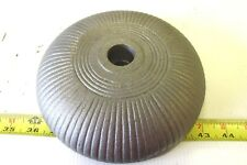 CAST IRON  SIPE KANSAS CITY HOG PIG OILER  SMALL WHEEL