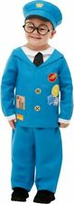 NEW Toddlers Blue Postman Pat Smiffys Funny Children Fancy Dress Costume
