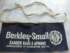 Vintage Nail Apron Berkley-Small 25th Anniversary
