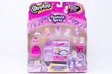 New Shopkins Fashion Spree Slumber Fun Playset Collection 8 Pk Exclusive Bunk