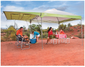 Coleman 10ft x 10ft Swingwall Instant Shelter Gazebo Canopy Camping BBQ Event