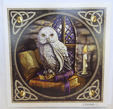 Lisa Parker Greetings Card - Owl - Snowy Owl Design - BNIB