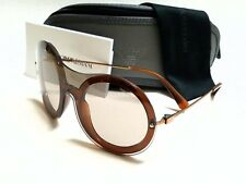 854f3225b8e Authentic EMPORIO ARMANI EA4055 542773 Opal Cognac Brown Lens Sunglasses