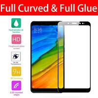 For Xiaomi Redmi Note 5 Black Full Curved 3D Tempered Glass Screen Protector