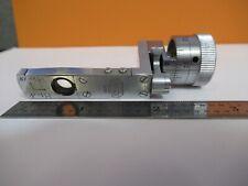 Leitz Berek Compensador Inclinación Deslizante Microscopio Parte Óptica Como