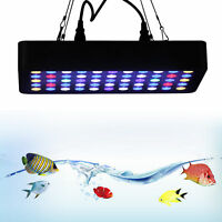 Full spectrum Dimmable 165W led aquarium light for coral reef fish tank lighting