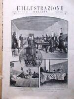 L'illustrazione Italiana 12 Aprile 1896 Andrea Chenier di Giordano Semmola Atene