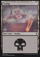 1x Altered Art swamp : Custom Basic Land non-foil MTG card