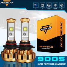 AUXBEAM 9005 HB3 60W 6000LM LED Car Headlight Kit Replace XENON Bulb Lamp 6500K