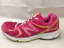 New Balance 490v2 Womens 8 Running Shoes Pink Yellow White W490PYL2 Sneaker Neon