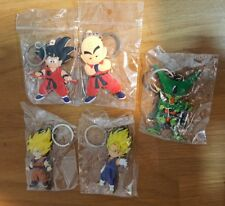 DRAGON BALL Z lot de 5 porte clé keychain figurine