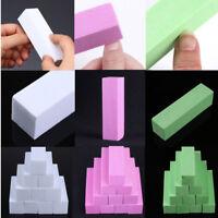 10Pcs Sanding Sponge Nail Buffing Buffer Files Block Grinding Polishing Tools