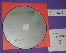 Replacement Disc # 3 Only MacGyver First Season Just This Disc Not Series Set