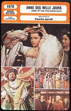 ANNE DES MILLE JOURS - Burton,Papas(Fiche Cinéma)1970-Anne of the Thousand Days