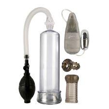 StaHard Erector Set Penis Pump Enhancer Kit with Vibrator Stroker and Penis Ring