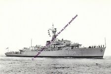 rp13490 - Royal Navy Warship - HMS Start Bay F604 , built 1945 - photo 6x4