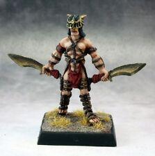 Necropolis Chattel Reaper Miniatures Warlord Fighter Warrior Melee Kukri Swords
