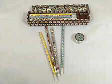 NWOT Vera Bradley Pen and Pencil Sets in Slate Blooms