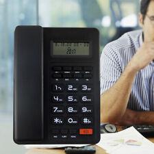Home Desk Corded Landline Phone Telephone Handset Lcd Caller Id Us