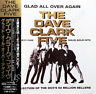 DAVE CLARK FIVE GLAD ALL OVER AGAIN CD OBI IN JEWEL CASE 16 page booklet new