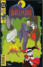 BATMAN ADVENTURES # 15 (US # 28) GERMAN VARIANT - 2nd HARLEY QUINN - DINO VERLAG