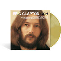 Eric Clapton - Icon Exclusive Limited Edition Translucent Tan Colored Vinyl LP