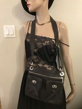 Danier Bag Crossbody Leather Brown Handbag  With Dust bag Nwot