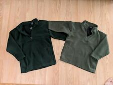 Pro Spirit 1/4 Zip Fleece Pullover Boys Shirt Size 4-5 Small Lot