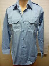 Vintage Pinkerton Regulation Security Work Shirt By Setlowear W/Patch Usa