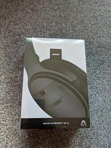 Bose QuietComfort QC35 II Wireless Noise Cancelling Headphones - Black - NEW