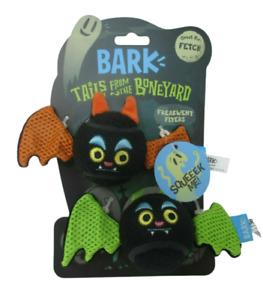 2 in 1 Bark Box DOG TOY BarkBox Squeak Fetch NEW Bat Tennis Balls NWT
