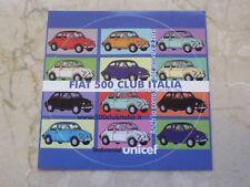 Zweiter schöner runder Aufkleber vom FIAT 500 Club Italia Unicef! Sehr selten!
