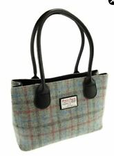 AUTHENTIC HARRIS TWEED GLEN APPIN CASSLEY BAG PINK CHECK LB1003 Col 69