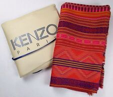 New in Box KENZO Large Scarf/Wrap/Stole; 71 x 30; Southwestern Print
