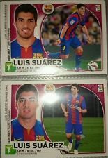 Luis Suárez Rookie 2 Versiones Últimos Fichajes UF Nº 14 Stickers Este 2014 2015