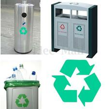 Recycling Waste Bin Vinyl Decal Sticker Printed Waterproof Recycle can Logo Sign